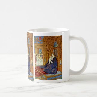Madonna At The Portal Of A Cathedral By Fouquet Je Coffee Mug