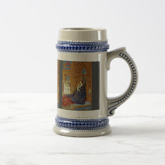 Madonna At The Portal Of A Cathedral By Fouquet Je Mug