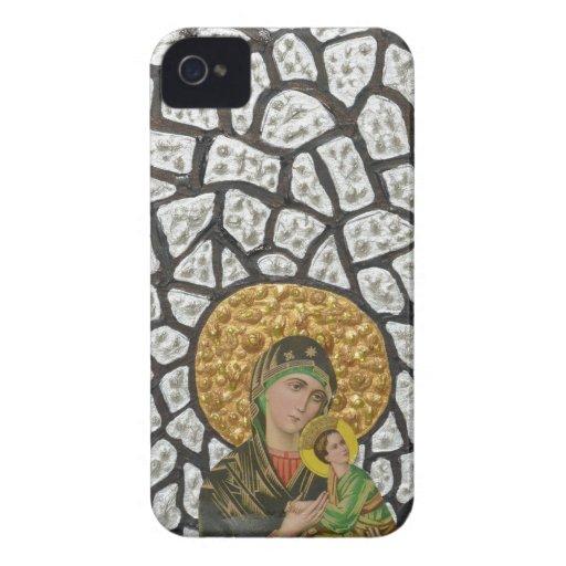 Madonna & Baby Jesus 2 iPhone 4 Cases