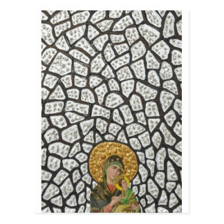 Madonna & Baby Jesus 2 Postcard