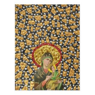 Madonna & Baby Jesus Postcard