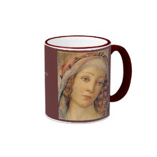 Madonna - Botticelli Tazas
