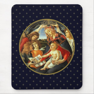 Madonna by Botticelli. Christmas Gift Mousepads