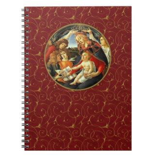 Madonna by Botticelli. Christmas Gift Notebook