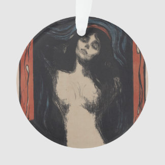 Madonna by Edvard Munch,symbolist painter Ornament