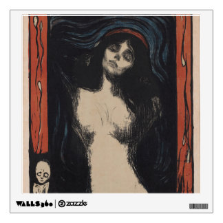 Madonna by Edvard Munch,symbolist painter Wall Decal