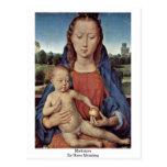 Madonna By Hans Memling Post Card