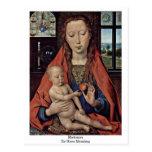 Madonna By Hans Memling Post Cards