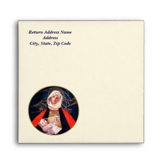 Madonna by Marianne Stoke Christmas Envelopes