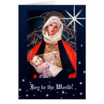 Madonna by Marianne Stokes.Christmas Cards