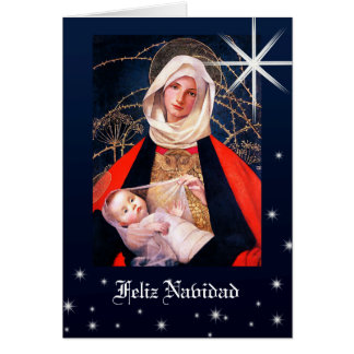 Madonna by Marianne Stokes. Spanis Christmas Cards