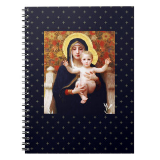 Madonna by W.Bouguereau, Christmas Gift Notebook
