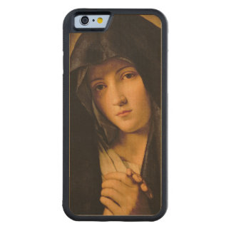 Madonna Carved® Maple iPhone 6 Bumper