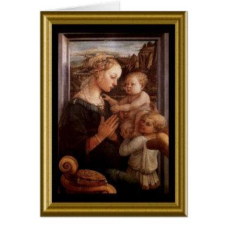 Madonna & Child Christmas Card