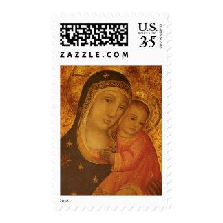 Madonna & Child Christmas Postage