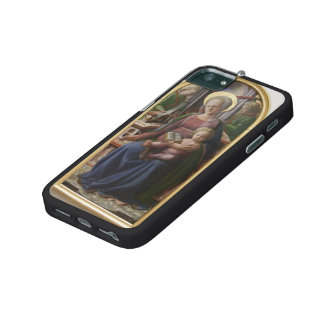 Madonna, Child Enthroned, Angels by Filippo Lippi iPhone 5/5S Cover