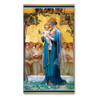 Madonna & Child Magnetic Holy Cards -25/pack