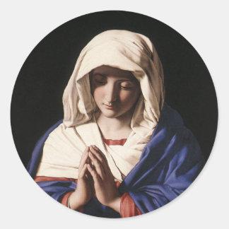 Madonna Classic Round Sticker