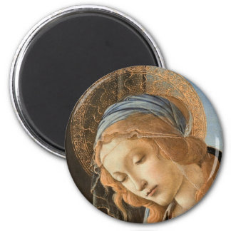 Madonna col Bambino 2 Inch Round Magnet
