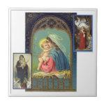Madonna Collage Ceramic Tiles