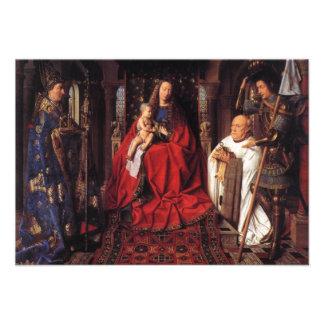 Madonna con Canon van der Paele, Jan van Eyck Comunicados Personales