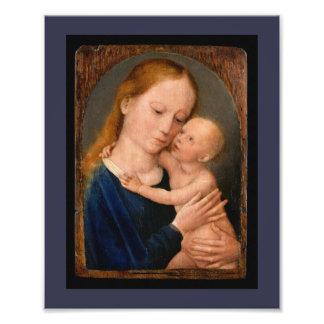 Madonna con el niño de Cristo Fotografía