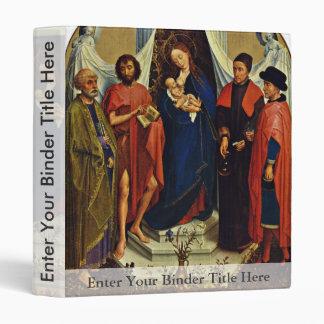 Madonna con los santos Peter, San Juan Bautista,
