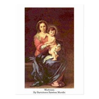 Madonna de Bartolome Esteban Murillo Postales
