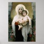 Madonna de Bouguereau de los rosas (1903) Impresiones