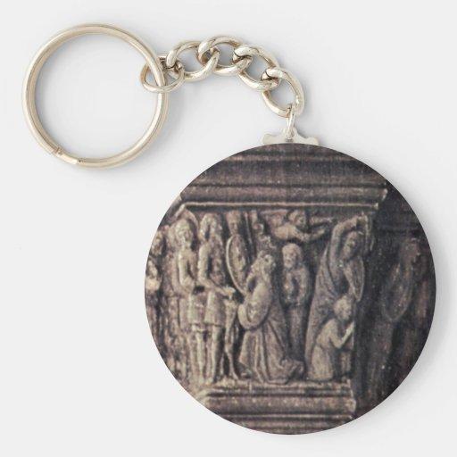 Madonna de Canon George Van Der Paele By Eyck ener Llaveros Personalizados