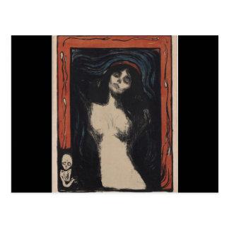 Madonna de Edvard Munch, pintor del symbolist Postales