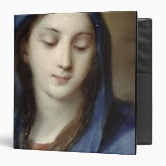 """Madonna de la capilla (en colores pastel en el carpeta 1 1/2"""""""