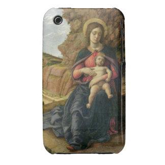 Madonna de la cueva, 1488-90 (tempera en el panel) funda bareyly there para iPhone 3 de Case-Mate
