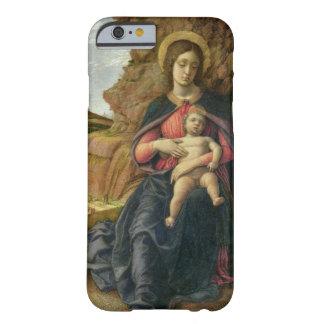 Madonna de la cueva, 1488-90 (tempera en el panel) funda para iPhone 6 barely there