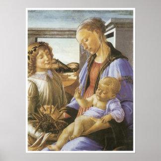 Madonna de la eucaristía, C. 1740 Posters