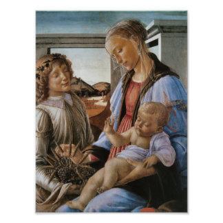 Madonna de la eucaristía por Botticelli Fotografías