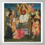 Madonna de la faja sagrada, 1456 (tempera encendid póster