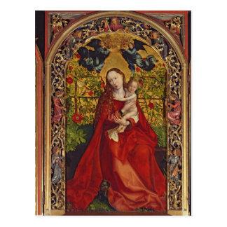 Madonna de la glorieta color de rosa, 1473 postales