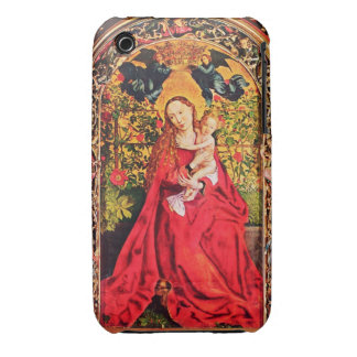 MADONNA DE LA GLORIETA COLOR DE ROSA iPhone 3 Case-Mate COBERTURAS