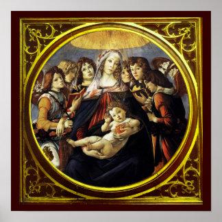 Madonna de la granada poster