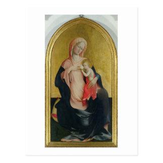 Madonna de la humildad, c.1410 (tempera en el tarjeta postal
