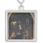 Madonna de las rocas, c.1478 colgante cuadrado