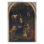 Madonna de las rocas, c.1478 tarjeta de felicitación