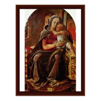 Madonna de Lippi Filippino Postales