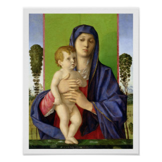 Madonna de los árboles degli Alberetti de Madonna Impresiones