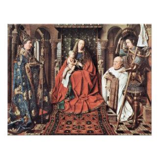 Madonna de los Dom del St. de Canon George Van Der Invitacion Personal
