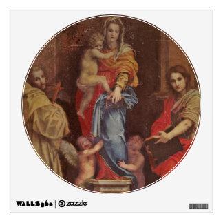Madonna de los Harpies Vinilo Decorativo