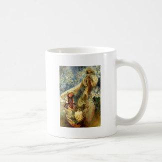Madonna de los lirios 1905 taza