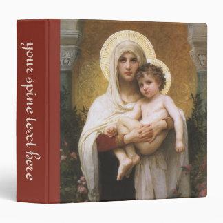 Madonna de los rosas, Bouguereau, realismo del