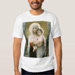 Madonna de los rosas OSCUROS Poleras